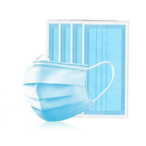Disposable Face Masks Certified Health Virus Protector Mask Anti-flu 3 Layer Protection
