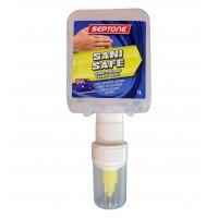 Sanisafe Hand Sanitising Gel pods for manual dispenser