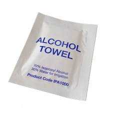 70% Isopropyl Alcohol Towel Wipe Australian Made - 1000 per carton