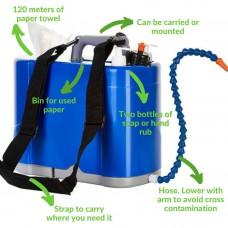 ShoulderSink - Soap, Water Paper Complete Hand Hygiene Station