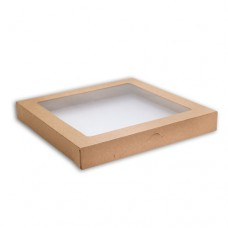 Lid for Kraft Catering Box - Small (100 per carton)