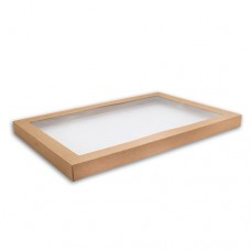 Lid for Kraft Catering Box - Extra Large (50 per carton)