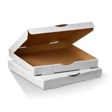 """Pizza Box 11"""" Plain White 100 per pack"""