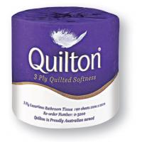 ABC Quilton 3ply Premium Toilet Tissue Paper 190 sheets