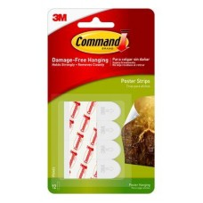 Command™ Poster Strips 12 per pack
