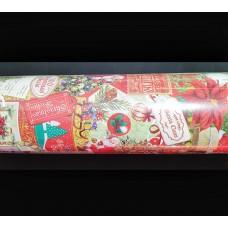 Wrapping Paper Club Roll - Vintage Santa 50m