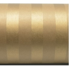 Wrapping Paper - Gold Stripe on Kraft 50m