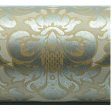 Wrapping Paper - Victorian Design on Kraft 50m