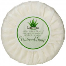 Soap; pleat wrap 20g white  400/ctn