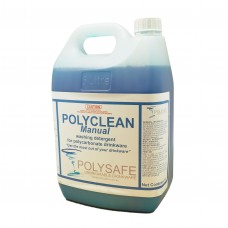 Polysafe Manual glasswash detergent 5ltr