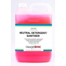 Neutral Detergent Sanitiser; 5L