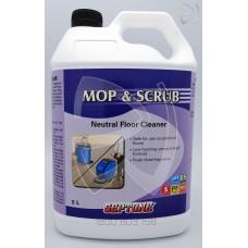 Mop & Scrub Neutral Floor Cleaner; 5L