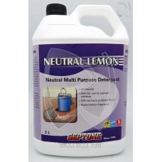 Neutral Lemon Multi Purpose Detergent; 5L