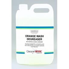 Orange Wash Degreaser; 5L
