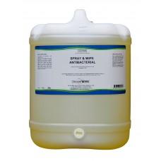 Spray & Wipe Antibacterial 20L