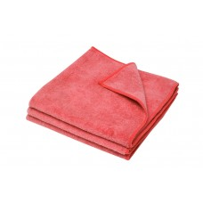 Microfibre Cloth; Red Merrifibre 12 x 3pk 36ea/ctn