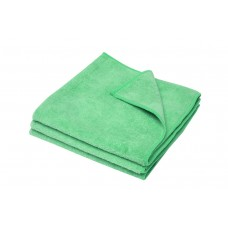 Microfibre Cloth; Green Merrifibre 12 x 3pk 36ea/ctn