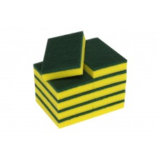 Sponge Scourers;  150 x 100 x 30mm 20packs/ctn 200/ctn HD