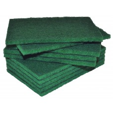 Industrial Standard Scourers Green 15 x 10cm 100/ctn