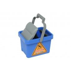 Mop Bucket; 9ltr Squeeze handy step bucket