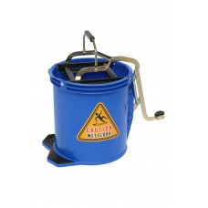 Bucket; 16L blue With metal mechanism