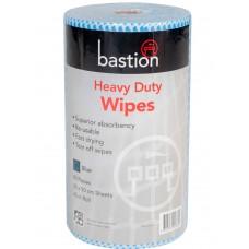Wipes; FS on a roll blue 30cm x 45mtr 90 sheets/roll 6 rolls/ctn