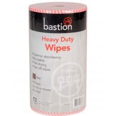 Wipes; FS on a roll red 30 x 50cm 90 sheets/roll 6 rolls/ctn