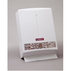Dispenser; interleaved hand towel plastic Ultraslim