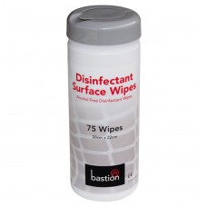 Wipes; disinfectant 20 x 22cm 12 x75sheet can