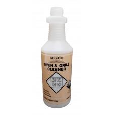 Spray Bottle; 500ml - Oven & Grill cleaner