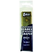 Replacement blades; for Edco scraper 10pk