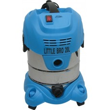 LITTLE BRO 20 Litre Wet and Dry Commercial Vacuum