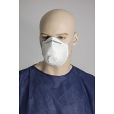 Dust Mask; P2 respirator with valve 12/pk