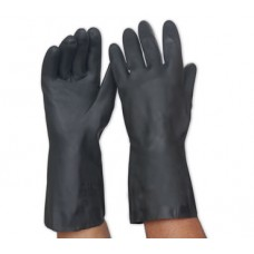 Gloves; Warrior neoprene black 330mm long (pair)