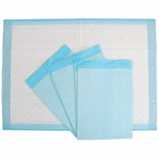 Underpads; 5ply tissue 56 x 40cm blue 250/ctn