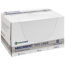 Absorbent Tray Liners; 4331C medium 24 x 37cm 6 x 75pk/ctn