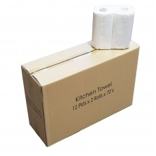 Kitchen Towel; 2ply 24rolls/ctn 70sheets/roll