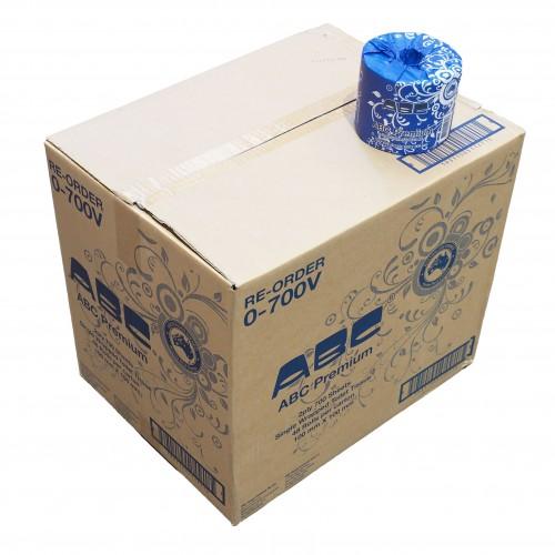 Abc Toilet Tissue 2ply 700 Sheets Roll Premium 48rolls Ctn