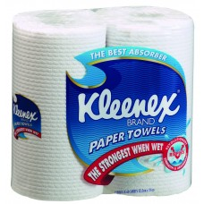 4430 Kleenex Kitchen Towel White Perforated 60 sheet 12pk