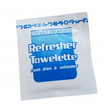 White Moist Refresher Towelette 1000ctn