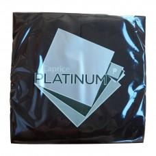 Quilted Dinner Napkins; GT Fold black 10 x 100pk/ctn 500/ctn