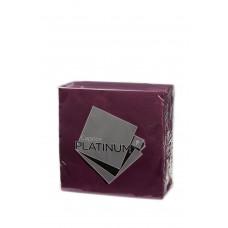 Quilted Dinner Napkins; GT Fold burgundy 10 x 50pk/ctn 500/ctn