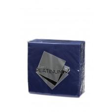 Quilted Dinner Napkins; GT Fold dark blue  500ctn