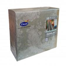 Dunilin Dinner Napkin, 40x40cm 12x60pack Granite Grey