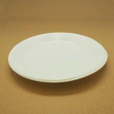"Foam Plate; 9"" Round Laminated 4 x 125pk/ctn 500/ctn"