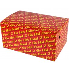 Snack Box; 056 Family 'Hot Food 2 Go' 210x140x102mm 200/ctn