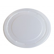Icecream Container Lids; Natural to suit CA-IC16/32 10 x 100pk/ctn 1000/ctn
