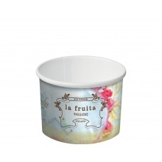 Castaway La Fruita Paper Ice Cream Cups - 4oz 120ml - 1000 per carton