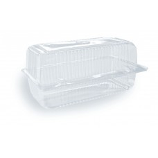 Hinged Pack; Barcake Plastic Tacca 500/ctn