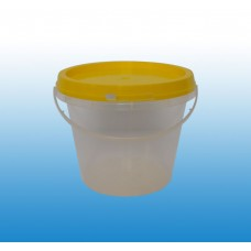 Honey Bucket; 1Kg with Yellow Lid 150/ctn